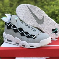 Sneaker Room x Nike Air More Money QS Gray Shoe 36--45
