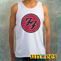 Foo Fighters Logo Clothing Tank Top For Mens
