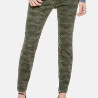 Women's Two by Vince Camuto Camo Print Skinny Jeans ,