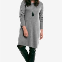 Fine Gauge Sweater Dress