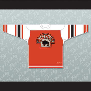 Buffalo Bisons 37 Hockey Jersey Stitch Sewn Any Player or Number