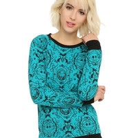 The Nightmare Before Christmas Baroque Girls Pullover Top