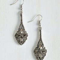 Vintage Inspired Gleams the World to Me Earrings by ModCloth