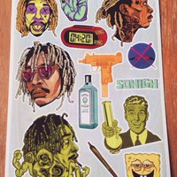 Wiz Khalifa #2 Stickers Sheet