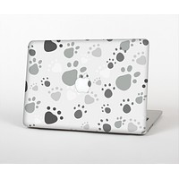 "The Gray & White Large Paw Prints Skin for the Apple MacBook Pro 13""  (A1278)"