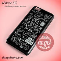 Bastille Songs Phone case for iPhone 5C and another iPhone devices