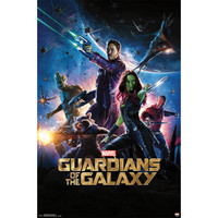 Guardians Of The Galaxy Domestic Poster