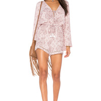 FAITHFULL THE BRAND Positana Romper in Fairfax Print