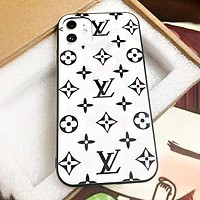 LV Louis Vuitton Fashion Women Men Print Personality iPhone Phone Cover Case For iPhone 11 iPhone X XR XS XS MAX PRO MAX