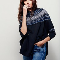 Free People Womens Ruby Red Pullover