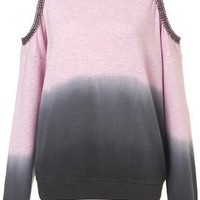 Petite Dip-Dye Chain Sweat - New In This Week  - New In