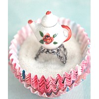 Rose Tea Pot Ring