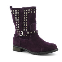 Promise Abigail womens mid calf western/riding low heel boot