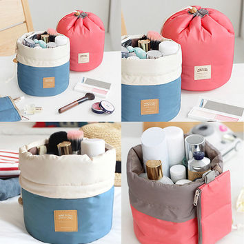 Cosmetic Storage Bucket Bags