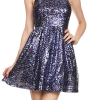 Starry Nights Sequin Party Dress