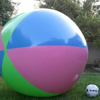 """51"""" or (4 1/4 ft.) Tall Inflatable Large Beach Ball, Party Fun, Monster Ball Giant XXL"""