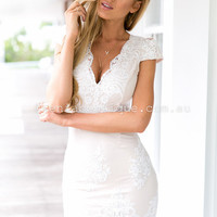 For Our Love Dress (White) | Xenia Boutique | Women's fashion for Less - Fast Shipping