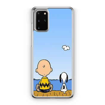Snoopy And Charlie Brown Samsung Galaxy S20 Case