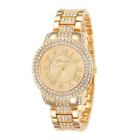 Crystal Classical Designed Elegant Women Dress Watches Quartz Wristwatch High Quality Stainless Steel Adjustable Strip Ladies Bracelet Watch Gift Hours Clock relogio = 1958456516