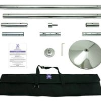 45mm Xpert X-Pole Dancing Pole Kit Portable with Carry Case
