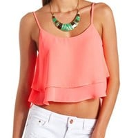 LAYERED SWING CROP TOP