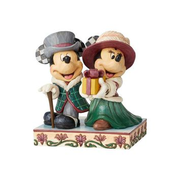 Jim Shore Disney Traditions Mickey and Minnie Victorian - 6002829