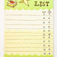 Sale: Hummingbird To-Do List Notepad