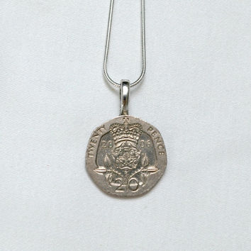 BRITISH Coin Necklace