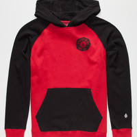 Volcom Station 91 Boys Hoodie Black  In Sizes