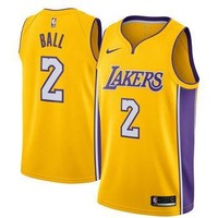 Lonzo Ball Jersey - Los Angeles Lakers - NBA