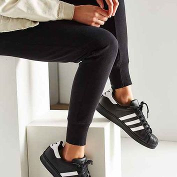 adidas Black Superstar Sneaker