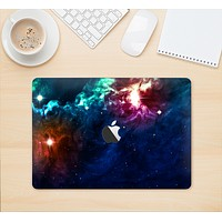 "The Glowing Colorful Space Scene Skin Kit for the 12"" Apple MacBook (A1534)"