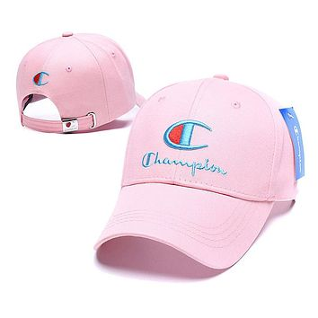 Champion Fashion Snapbacks Cap Women Men Sports Sun Hat Baseball Cap Q_1481979175