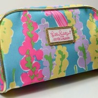 Estee Lauder Lilly Pulitzer Spring Pink Cosmetic Bag 2013