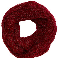 Liberty Infinity Scarf in Burgundy