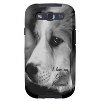 Great Pyrenees Puppy Photo Samsung Phone Case Galaxy S3 Covers from Zazzle.com