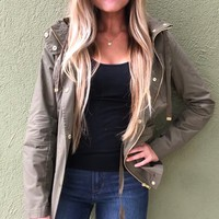 Love Tree Jacket- Olive