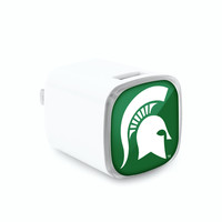 Michigan State Spartans Wall Charger