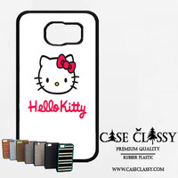hello kitty white Samsung Galaxy S6 Case CaseClassy