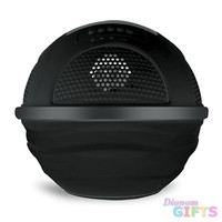 Aqua Blast Bluetooth Floating Pool Speaker System with Built-in Rechargeable Battery and Wireless Music Streaming (Black Color)