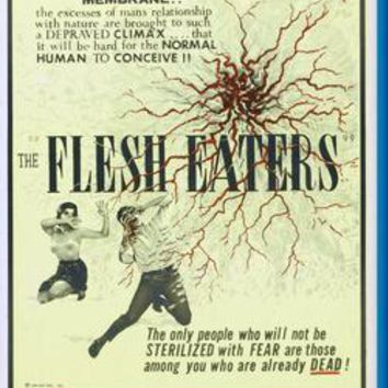 """Flesh Eaters poster 24""""x36"""""""