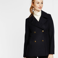 Piped Peacoat