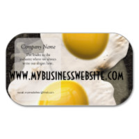 Sunny Side Up Eggs Business Card