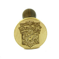 UNIQOOO Arts and Crafts Slytherin Magic Four Acedemy Badge Wax Seal Stamp