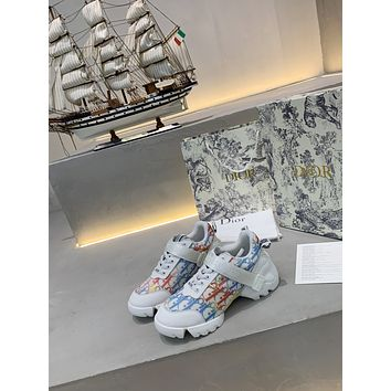 dior fashion men womens casual running sport shoes sneakers slipper sandals high heels shoes 75