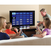 The Authentic At Home Jeopardy - Hammacher Schlemmer