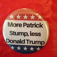 Vote Stump 2.5 Inch Pinback Button