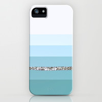 MINT BLUE Party Stripes II iPhone & iPod Case by Monika Strigel for iphone 5 + 4 + 3 + SAMSUNG GALAXY !!!