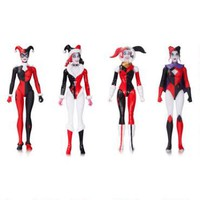 DC Comics Designer Series: Harley Quinn by Amanda Conner Action Figure Set |
