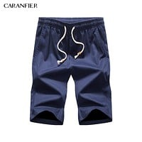 CARANFIER 2017 Summer Cotton Men Fashion Shorts New Brand Breathable Male Casual Comfortable Cool Shorts M~4XL